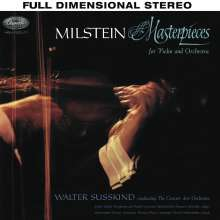 Nathan Milstein - Masterpieces for Violin and Orchestra, Super Audio CD