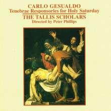Carlo Gesualdo von Venosa (1566-1613): Lecons de Tenebres: Responsorien für den Karsamstag, CD