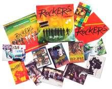 Rockers: It's Dangerous (The Irie Box) (Dreifarbiges Vinyl), 1 LP, 1 DVD, 1 Blu-ray Disc und 1 Buch