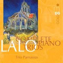 Edouard Lalo (1823-1892): Klaviertrios Nr.1-3, CD