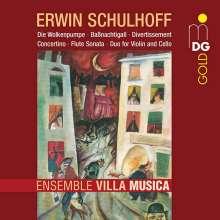 Erwin Schulhoff (1894-1942): Divertissement für Oboe,Klarinette,Fagott, CD