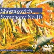 Dmitri Schostakowitsch (1906-1975): Symphonie Nr.10, DVD-Audio