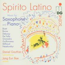 "Musik für Saxophon & Klavier ""Spirito Latino"", CD"