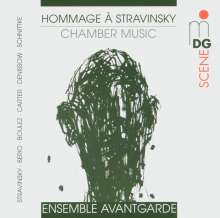 Ensemble Avantgarde - Hommage a Strawinwsky, CD