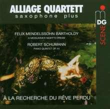 Alliage Quartett - A La Recherche Du Reve Perdu, Super Audio CD