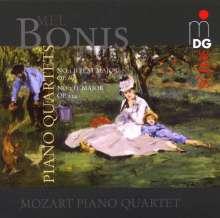 Melanie Bonis (1858-1937): Klavierquartette Nr.1 & 2, CD
