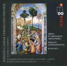 Johann Caspar Ferdinand Fischer (1656-1746): Missa Sancti Michaelis Archangeli, Super Audio CD