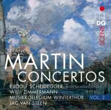 Frank Martin (1890-1974): Concertos Vol.2, CD