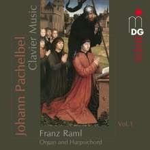 Johann Pachelbel (1653-1706): Claviermusik Vol.1, CD