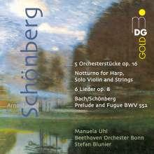 Arnold Schönberg (1874-1951): Stücke für Orchester op.16 Nr.1-5, Super Audio CD