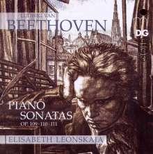 Ludwig van Beethoven (1770-1827): Klaviersonaten Nr.30-32, Super Audio CD