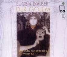 Eugen D'Albert (1864-1932): Der Golem, 2 Super Audio CDs