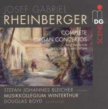 Josef Rheinberger (1839-1901): Orgelkonzerte Nr.1 & 2 (opp.137 & 177), Super Audio CD
