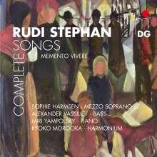 Rudi Stephan (1887-1915): Lieder, CD