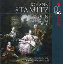Johann Stamitz (1717-1757): Violinsonaten op.6 Nr.1-6, Super Audio CD