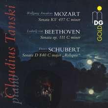 Claudius Tanski - Mozart / Beethoven / Schubert, Super Audio CD