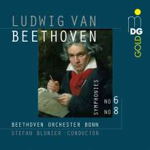 Ludwig van Beethoven (1770-1827): Symphonien Nr.6 & 8, Super Audio CD