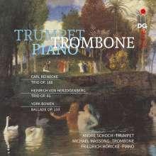 Carl Heinrich Reinecke (1824-1910): Trio für Oboe, Horn & Klavier op.188 (arr. für Trompete, Posaune & Klavier), CD