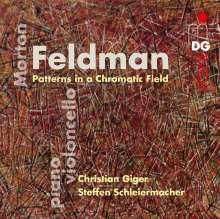Morton Feldman (1926-1987): Patterns in a Chromatic Field für Cello & Klavier, CD