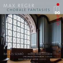 Max Reger (1873-1916): Choralfantasien, 2 Super Audio CDs