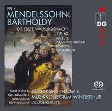 Felix Mendelssohn Bartholdy (1809-1847): Die erste Walpurgisnacht op.60, Super Audio CD