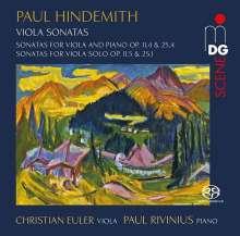 Paul Hindemith (1895-1963): Sonaten für Viola & Klavier, Super Audio CD
