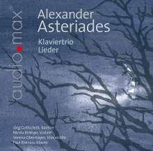 Alexander Asteriades (geb. 1941): Variationen für Klaviertrio, CD