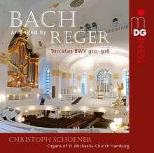 Johann Sebastian Bach (1685-1750): Toccaten BWV 910-916 (arr. für Orgel von Max Reger), Super Audio CD