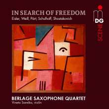 Berlage Saxophone Quartet - In Search of Freedom, Super Audio CD