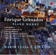 Enrique Granados (1867-1916): Klavierwerke, Super Audio CD
