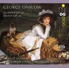 Georges Onslow (1784-1852): Die Kammermusik für Bläser, Super Audio CD