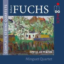 Robert Fuchs (1847-1927): Sämtliche Streichquartette Vol.1 & 2, 2 CDs