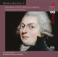 Johann Gottlieb Goldberg (1727-1756): Cembalokonzerte Es-dur & d-moll, Super Audio CD