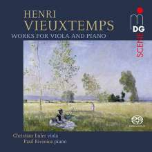 Henri Vieuxtemps (1820-1881): Werke für Viola & Klavier, Super Audio CD