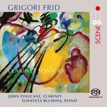 Grigori Frid (1915-2012): Klarinettensonaten Nr.1-3, Super Audio CD