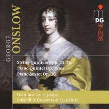 Georges Onslow (1784-1852): Streichquintette opp.33 & 74, 2 CDs