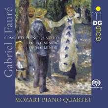 Gabriel Faure (1845-1924): Klavierquartette Nr.1 & 2, Super Audio CD