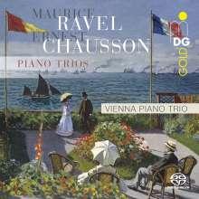 Maurice Ravel (1875-1937): Klaviertrio a-moll, Super Audio CD