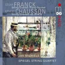Cesar Franck (1822-1890): Streichquartett op.35, 2 CDs