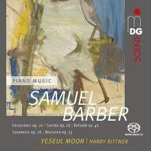 Samuel Barber (1910-1981): Klavierwerke, Super Audio CD