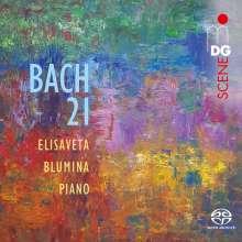 "Johann Sebastian Bach (1685-1750): Klavierwerke ""Bach 21"", Super Audio CD"