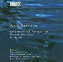 Kaija Saariaho (geb. 1952): Nymphea Reflection für Streicher, CD