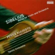 Jean Sibelius (1865-1957): Werke für Violine & Orchester, Super Audio CD