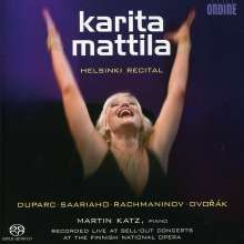 Karita Mattila - Helsinki Recital, Super Audio CD