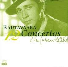 Einojuhani Rautavaara (1928-2016): 12 Konzerte, 4 CDs