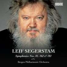 Leif Segerstam (geb. 1944): Symphonien Nr.81,162,181, CD