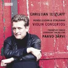 Christian Tetzlaff spielt Violinkonzerte, CD