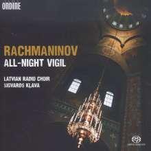 Sergej Rachmaninoff (1873-1943): Das große Abend- und Morgenlob op.37, Super Audio CD