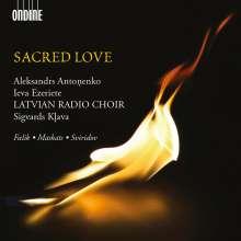 Latvian Radio Choir - Sacred Love, CD