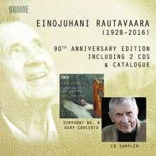 "Einojuhani Rautavaara (1928-2016): Symphonie Nr.8 ""The Journey"", 2 CDs"